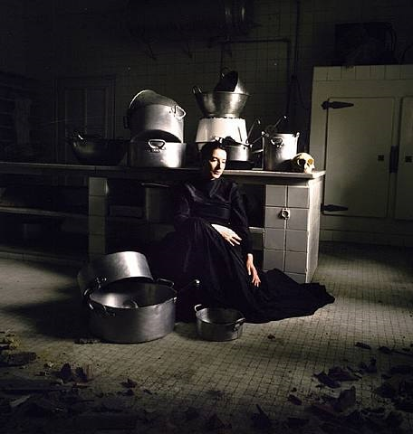 the kitchen iv - homage to saint therese by marina abramovic