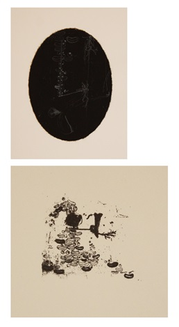 alias i and ii 2 prints from ssblakssblakssblakallblak wonder9 portfolio by ellen gallagher
