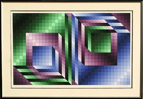 diptych by victor vasarely