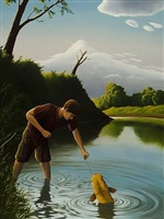 the yellow cat by anthony benton gude