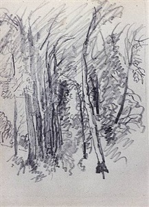 tree study by william trost richards