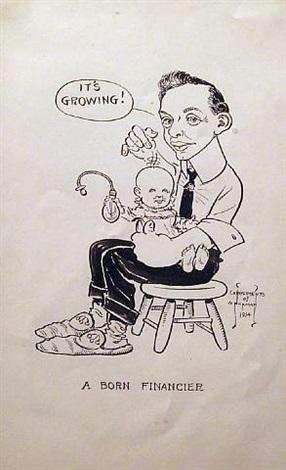 a born financier by norman rockwell