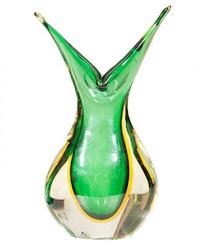 seguso murano sommerso vase, circa 1960's by seguso vetri d'arte (co.)