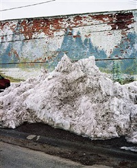 snow pile - ashton idaho by alexis pike