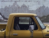 yellow ford truck - blackfoot idaho by alexis pike
