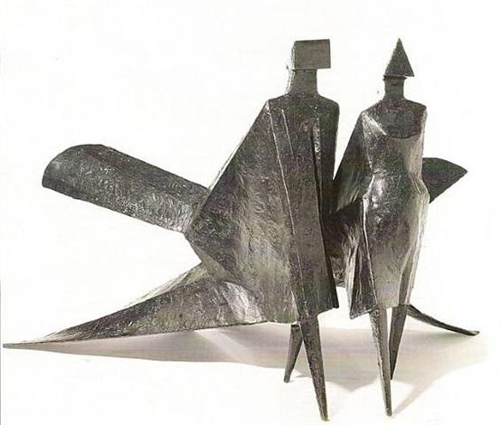 maquette jubilee ii by lynn chadwick