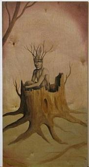 stump man by rené vasquez