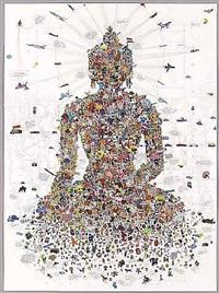 buddha sakyamuni by gonkar gyatso