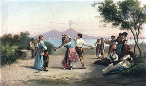 dancing near the bay of naples by a. rizzo