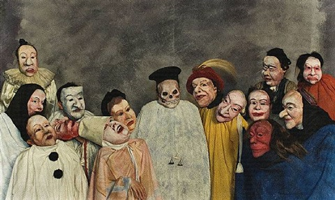 the great judge (after ensor) by philip haas