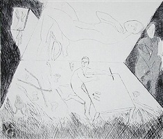 necropolis b by mimmo paladino