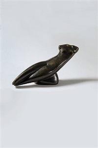 kleiner diagonaler torso / small diagonal torso by alexander archipenko