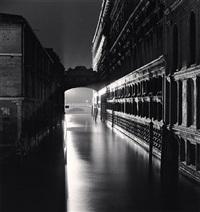 ponte dei sospiri, venice, italy, 1987 by michael kenna