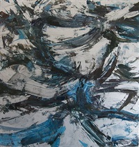 effect - black, blue, and silver by robin mcdonnell