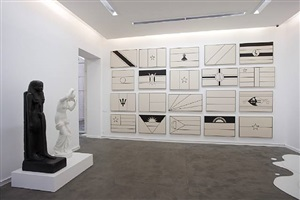 exhibition view by fred wilson
