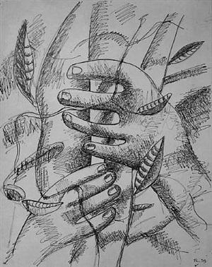 les mains by fernand léger