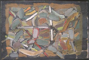 composition by nicolas de staël