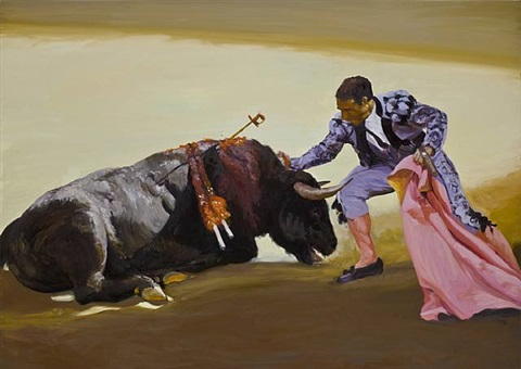 corrida in rondo #1 by eric fischl