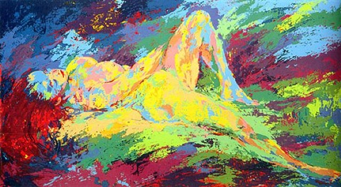 homage to boucher by leroy neiman