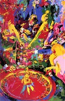 the green table by leroy neiman