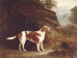 standing dog by john e. ferneley