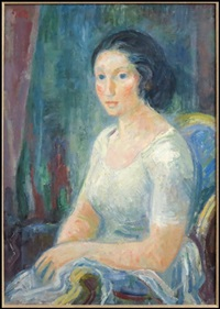 portrait of a woman by hans gott