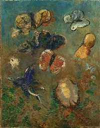 les papillons by odilon redon