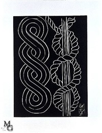black ornament from the pasiphaé by henri matisse