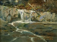 rushing waters by albert handell