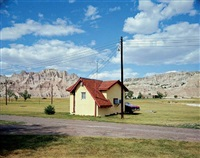 badlands national monument, south dakota, july 14, 1973 by stephen shore