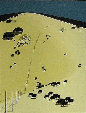 grazing in peace by eyvind earle