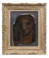 portrait de femme by jean souverbie