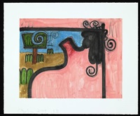 untitled, 3b by carroll dunham