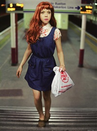 kate (from the big valley) by alex prager