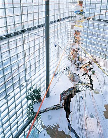 untitled (tokyo) by sarah sze