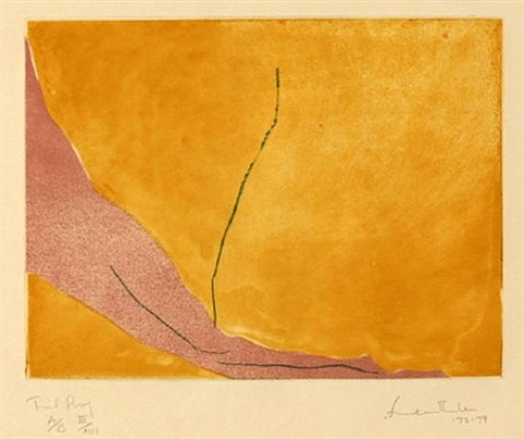 message from degas by helen frankenthaler