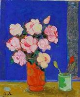 bouquet de roses by gilles gorriti