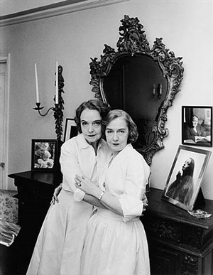 lillian and dorothy gish, new york, 1954 by guy gillette