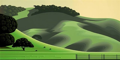 soft green meadows by eyvind earle