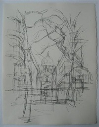 paris sans fin by alberto giacometti