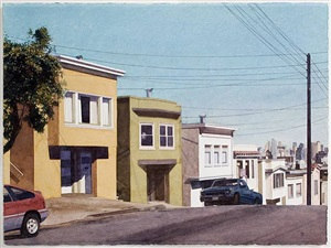 down arkansas street by robert bechtle