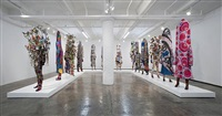installation view soundsuit by nick cave