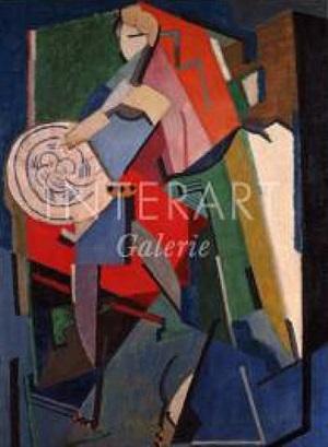 portrait de jean cocteau by albert gleizes