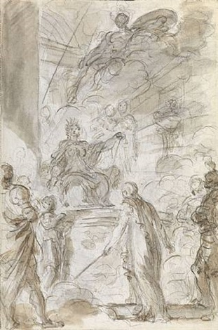 melissa addressing logistilla, from 'orlando furioso' by jean honoré fragonard