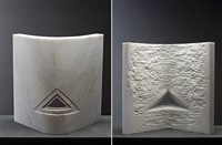carrara curved triangle by beverly pepper