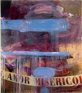 julian schnabel, navigation drawings and one painting by julian schnabel