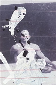 untitled (yogi) by julian schnabel