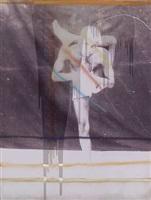 untitled (yogi) by julian schnabel