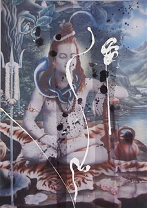 untitled (shiva) by julian schnabel