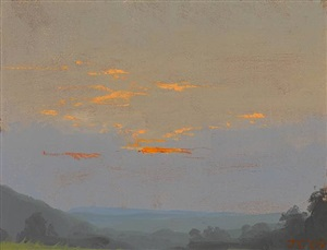 catskill sunset i by jacob collins